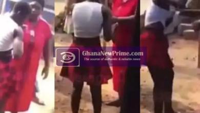 Woman beats up husband's girlfriend for 'sleeping with him till daybreak' (Video)