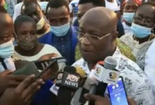 Majority Leader receives rousing welcome in Kumasi