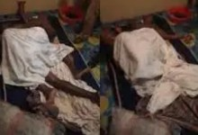 Cheating wife gets stuck with friend's husband while having sx3 [Video]