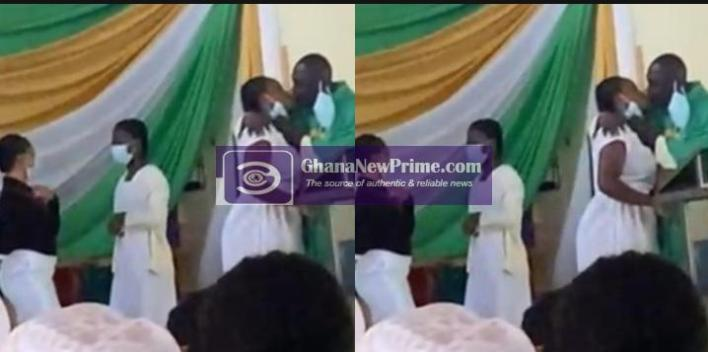 He broke my virginity's with the 'Holy kiss' - Female student cries out