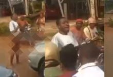 Wonders shall never end: Man goes mad after alighting from his expensive car [Video]