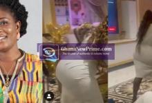 Ghanaians in shock at the strange backside of Florence Obinim [Video]