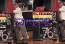 Viral Video of a White man staking lotto, leaves netizens shock
