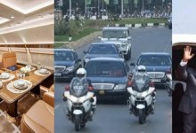 Ghanaians angry at Akuffo-Addo for using expensive and numerous cars in his convoy