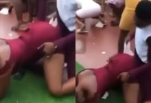 Two guests 'chop' themselves live at their friend's wedding ground [Video]