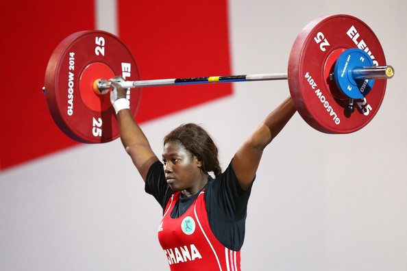 Image result for weight lifting in Ghana