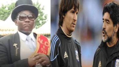 Photo of Famous Pallbearer Benjamin Aidoo Wants To Drive Messi And Maradona To Their Grave