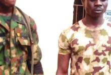 Photo of Army Civilian in Military Uniform, Driver Arrested in Suhum for Extortion and Robbery