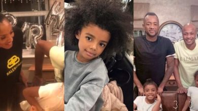 Photo of Dede Ayew shakes the internet with photos of beautiful wife and all grown daughter