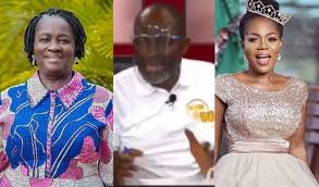 Photo of Kennedy Agyapong punches Prof. Naana Opoku-Agyemang in the face