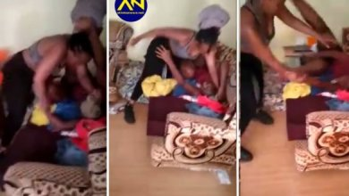 Photo of Drama as slay queen disciplines lady friend who gossip about her to her boyfriend [Watch]