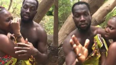 Photo of Video: Kumawood Stars caught chopping themselves In the bush (WATCH)
