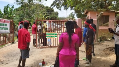 Photo of Video: NDC's PC, supporters storm EC office with bottles of schnapps, eggs to demand voter ID card (Watch)