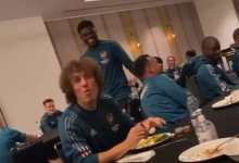Photo of Partey thrills Arsenal teammates with 'Twi' gospels [Video]