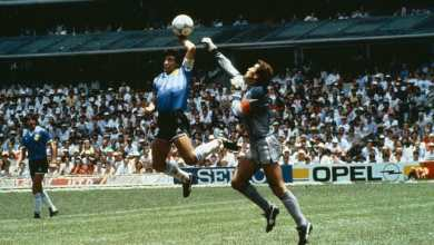 Photo of Hand of God: Diego Maradona's legendary goal for Argentina v England at the 1986 World Cup remembered (Watch Video)