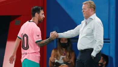 Photo of 'I don't agree': Barca boss Ronald Koeman disputes ex-manager Quique Setien's claim that Lionel Messi is 'difficult to manage'