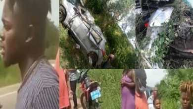 Photo of Breaking News: Quamina MP involved in a horrible car accident