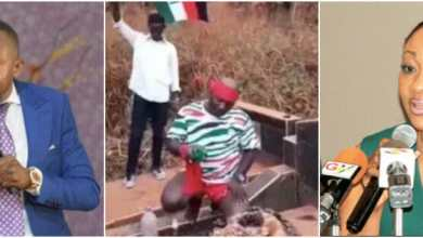 "Photo of ""Kill Owusu Bempah and Jean Mensa"" – Appiah Stadium Curses At The Cemetary-VIDEO"