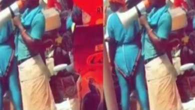 Photo of Hilarious Video Of Deaf and Dumb Man Preaching The Word Of God At A Market Hits The Internet