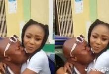 Photo of Bukom Banku k!sses Akuapem Poloo in latest video ( Watch Video)