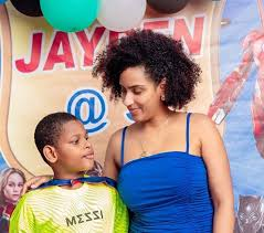 Photo of Stunning pictures of actress Juliet Ibrahim in Bikini and son hits the internet (Photos)