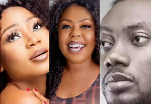 Photo of Four Ghanaian celebrities that have joined the Silhouette Challenge