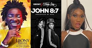 Photo of Shocking as late Ebony Reigns feature Wendy Shay on a new song