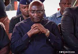 Photo of Bawumia mourns after being hit with sad news