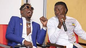 Photo of Shatta Wale names his favourite BHIM song as they reunite