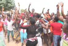 Photo of Land guards storm funeral; beat pregnant women, others at Apam