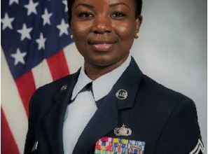 Photo of Meet Master Sgt. Eva Appiah, the Ghanaian-American appointed as Legislative Fellow in the US govt