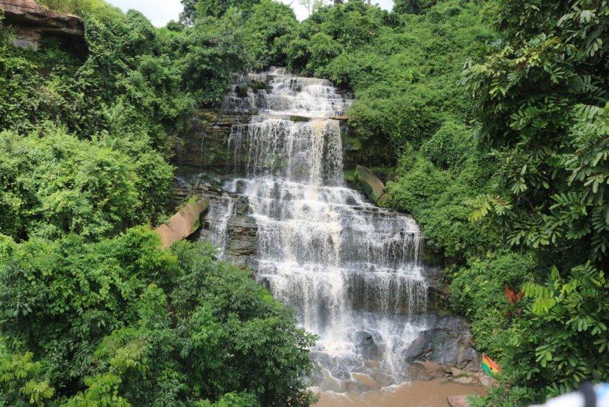 Kintampo water falls - Ghana