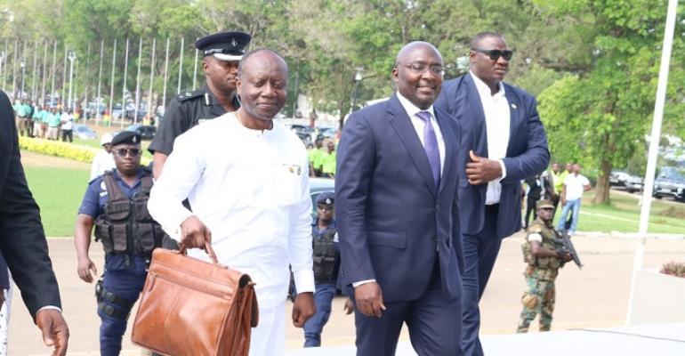 Ken Ofori-Atta and Vice President Dr. Bawumia