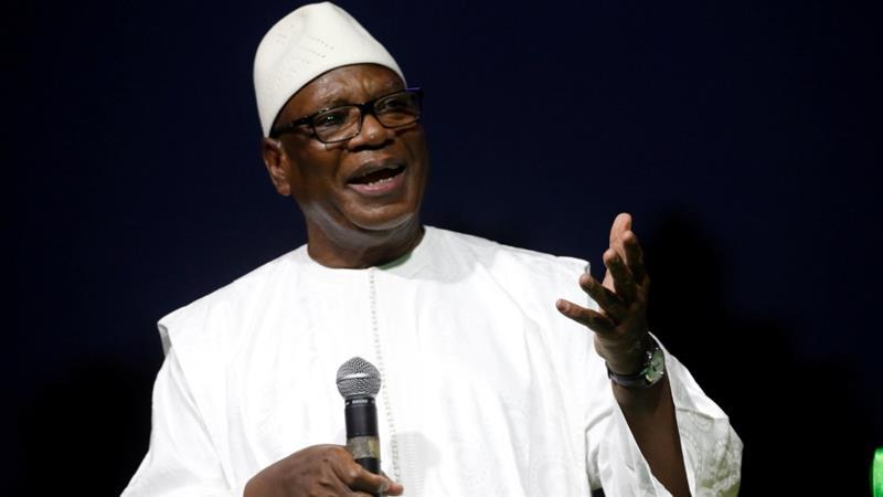 Mali President, Ibrahim Boubacar Keita