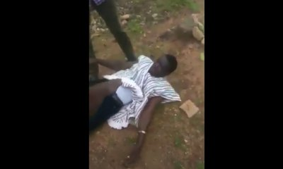 Man Stripped naked for having an affair with a married woman