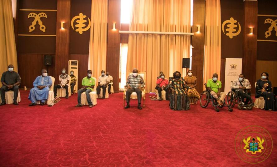 Disabled Male Entrepreneurs receive GH¢2M Funding Support.