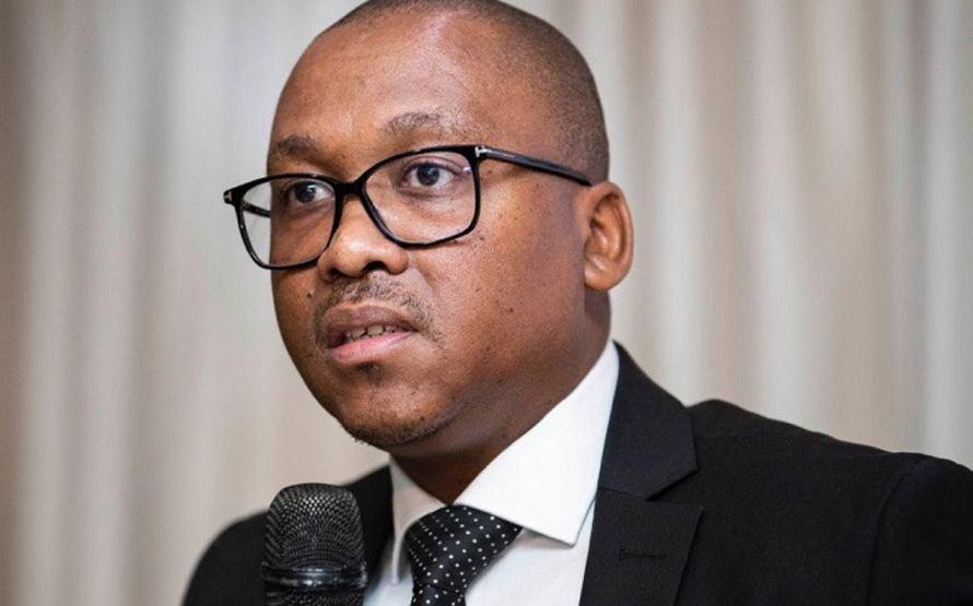 The Gauteng Health MEC, Bandile Masuku