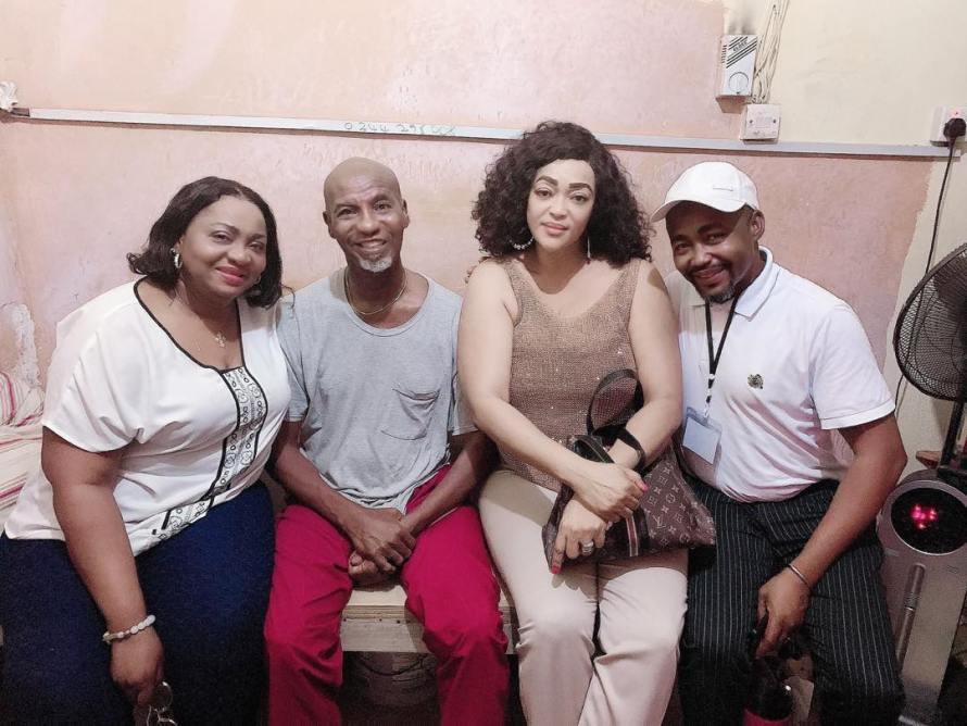 Famous actresses Kalsoum Sinare Baffour and Selassie Ibrahim