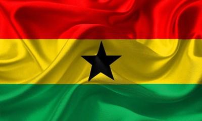 Ghana Flag - Regions in Ghana