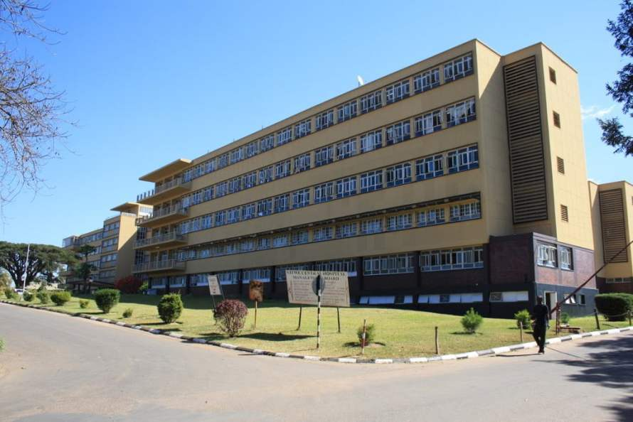 Kitwe Central Hospital located in the City of Kitwe