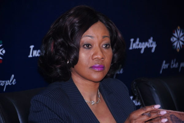 Chairperson of Electoral Commission of Ghana, Jean Adukwei Mensa
