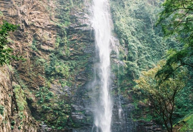 Wli Waterfalls in Volta Region. Image / Megan Gratz
