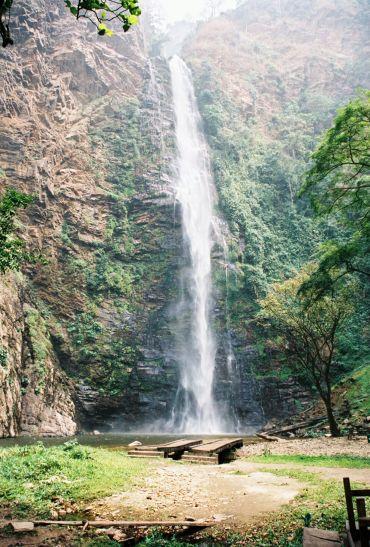 Wli Waterfalls in Volta Region