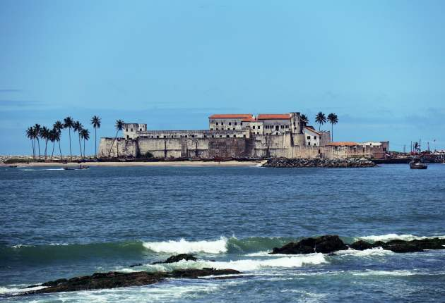 Elmina Castle in Central Region