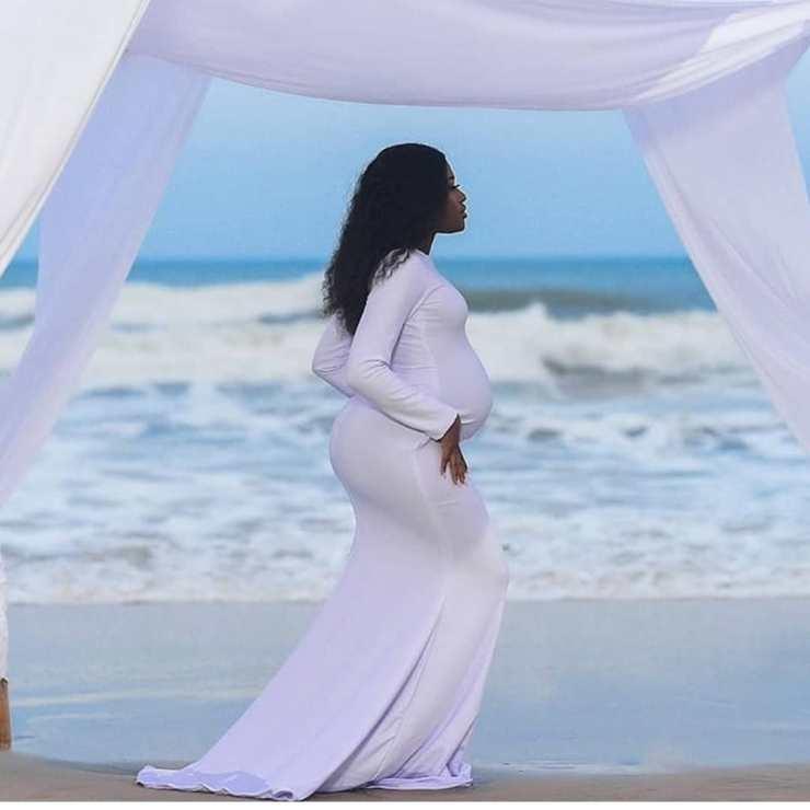 pregnant Fella Makafui