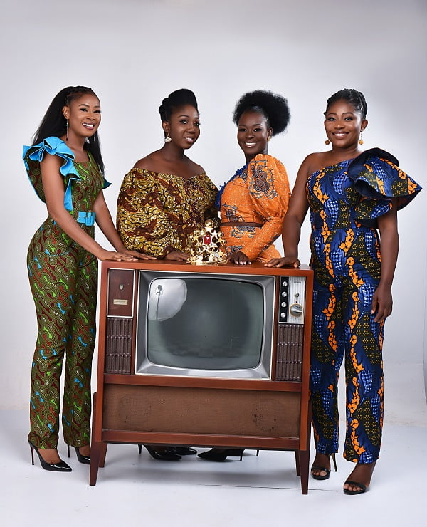 2020 Ghana's Most Beautiful Pageant Contestants