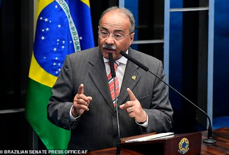 Brazilian Senator Hides Cash 'Between His Buttocks' During Police Raid
