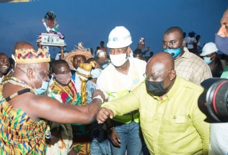 We need peace in Accra - President Akuffo-Addo