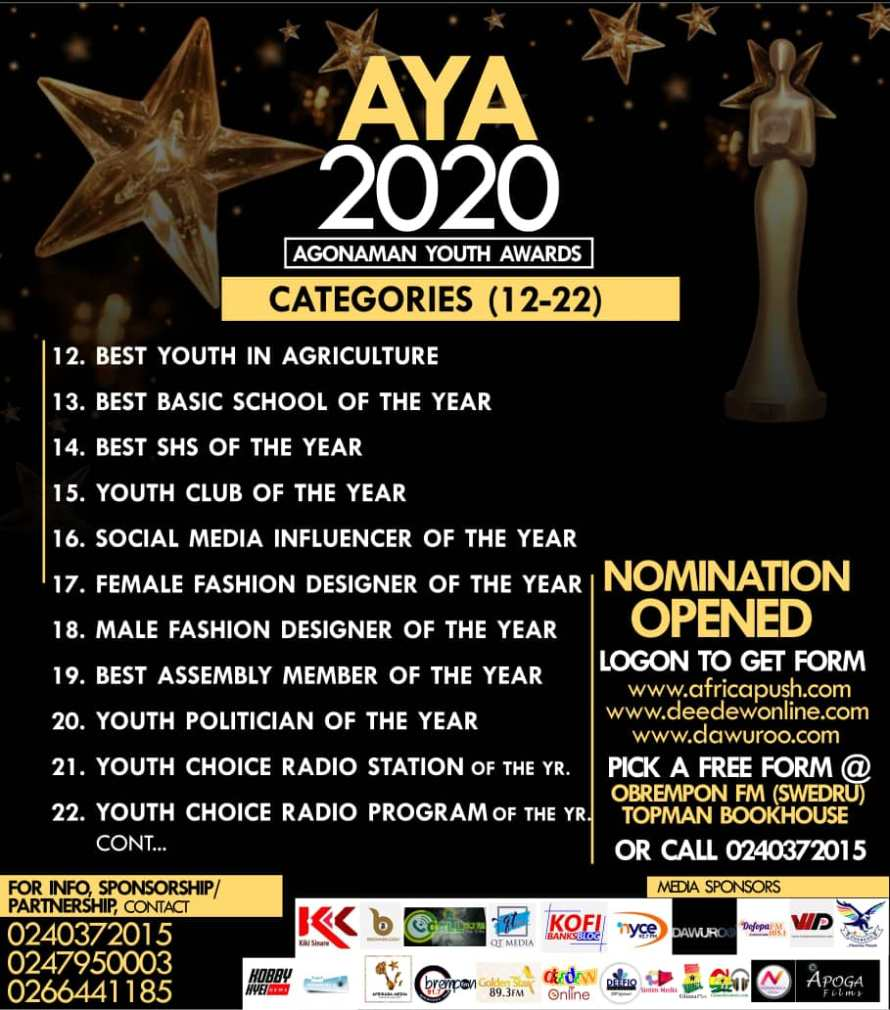 Agonaman Youth Awards