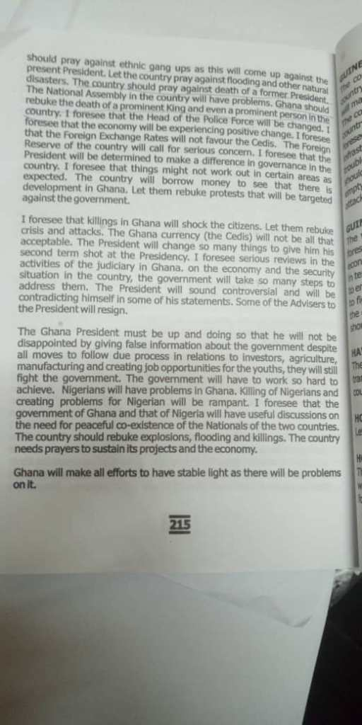 Primate Ayodele Warning to the Nations page 215